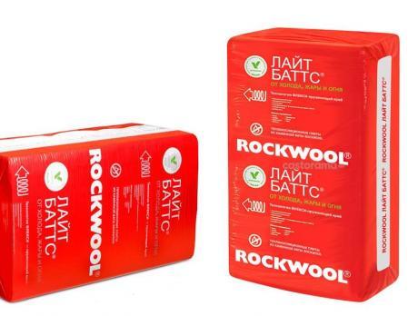Роквул лайт баттс (4,8м2) (0,24м3) плотн. 40кг/м3