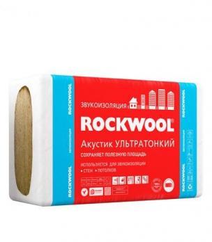 Роквул акустик баттс ( ультратонкий)  (7,2м2)(0,194м3)