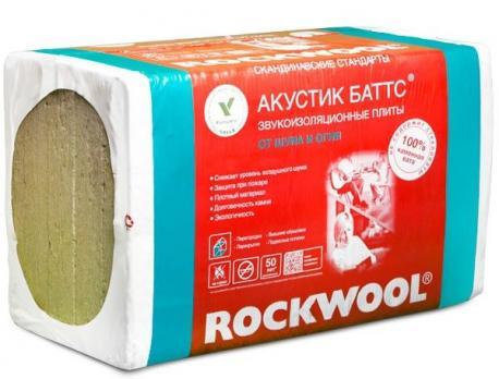 Роквул акустик баттс (6м2) ( 0,3м3)