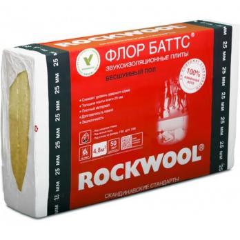 Роквул флор баттс 25мм (4,8м2) ( 0,12м3)