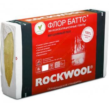 Роквул флор баттс50мм (2,4м2) ( 0,12м3)