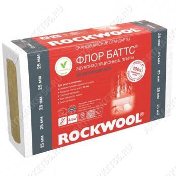 Роквул флор баттс100мм (1,2м2) ( 0,12м3)