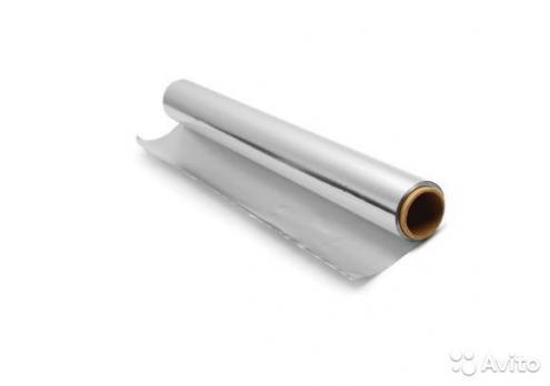 Фольга алюминиевая 100 мкм 1.2*10