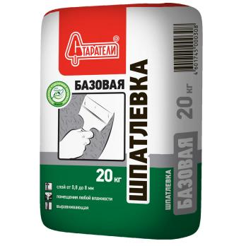 Старатели Шпаклевка базовая 20 кг (72шт/под)