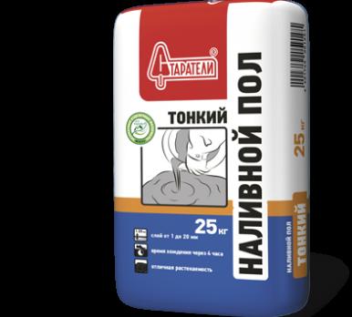 Старатели Наливной пол Тонкий (25 кг) (63шт/под)