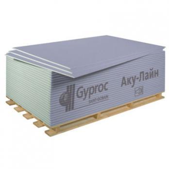 Звукоизоляционный гипсокартон АКУ-лайн (50л/уп) Гипрок