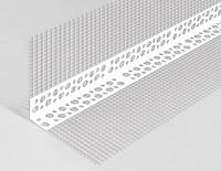 Уголок пластиковый с сеткой (150*150) 2,5м