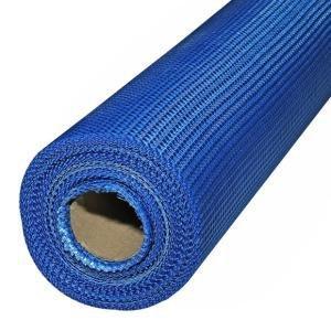 Cетка стеклотканевая для фасадных работ 5мм*5мм 160г/м2 (синяя)