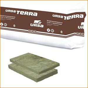 URSA Терра 35 QN Скатная крыша (4,68 м2)(0,702 м3) рулон