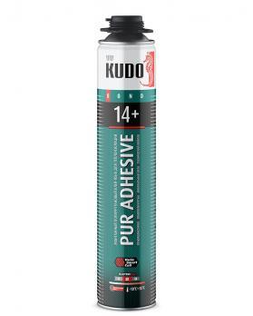 Монтажный полиуретановый клей-пена для теплоизоляции PUR ADHESIVE PROFF 14+
